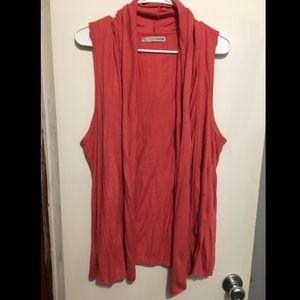 ☀️ SUMMER SALE ☀️ Coral Kimono Vest